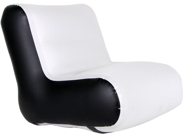 nortik Residair Inflatable Chair Oppustelig lænestol, hellgrau/schwarz